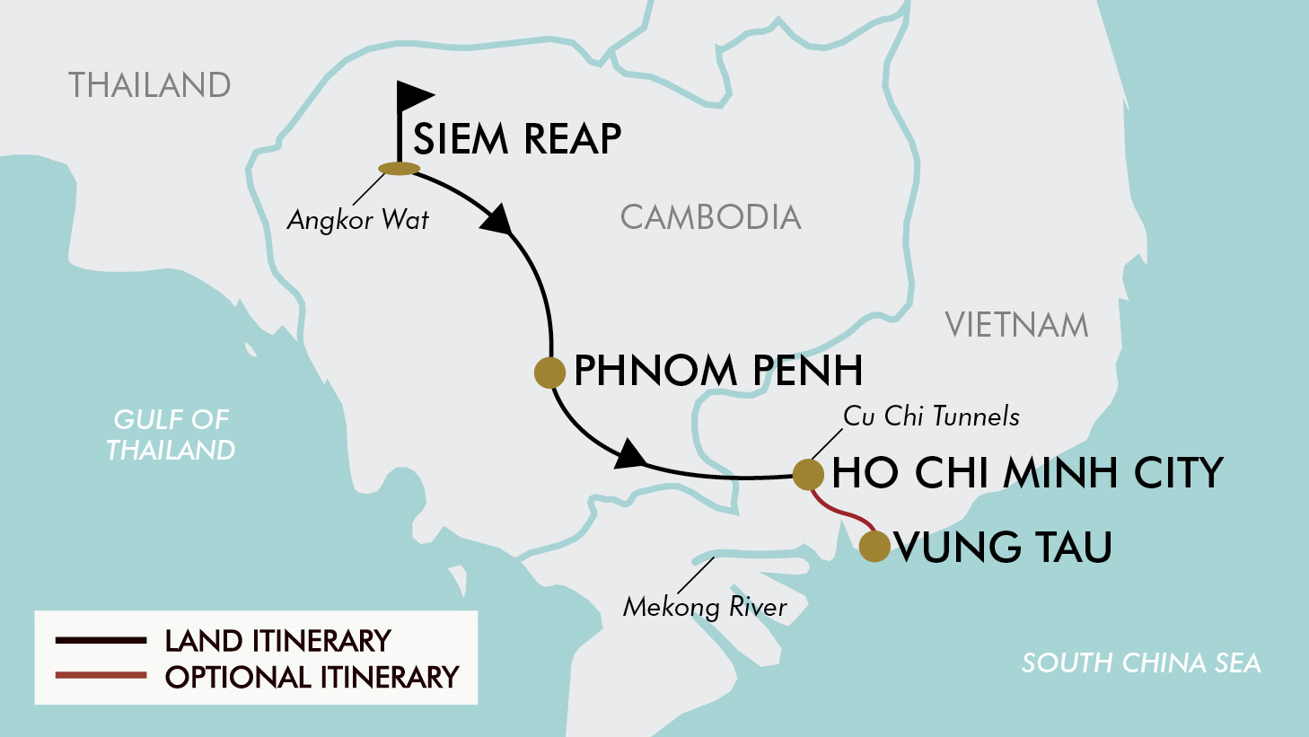 10 Day 2 For 1 Cambodia Vietnam Tripadeal